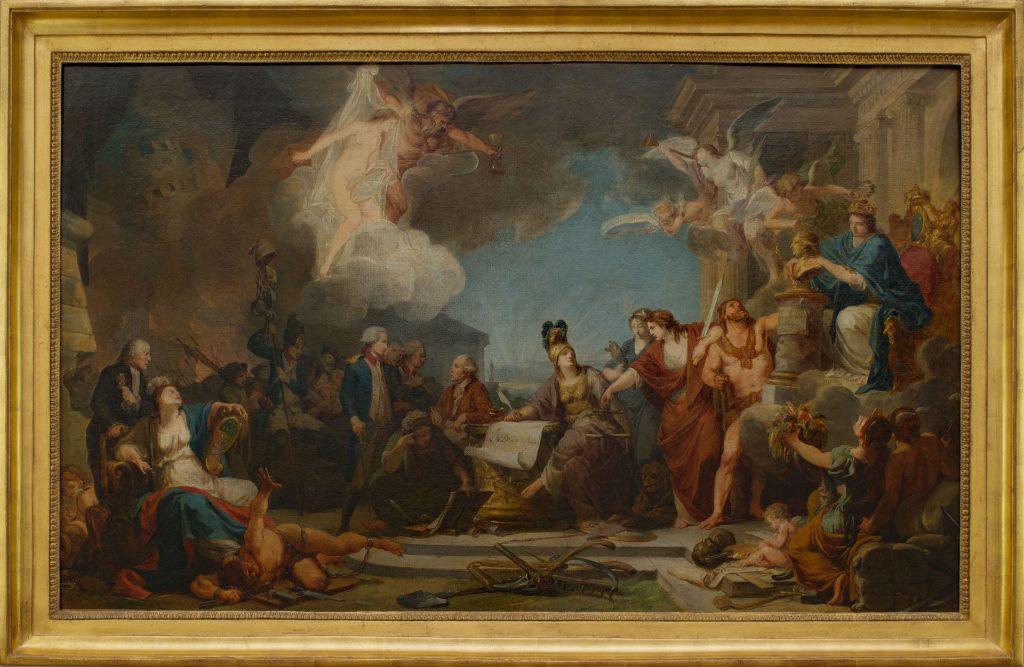 Regnault Peinture 18e siècle