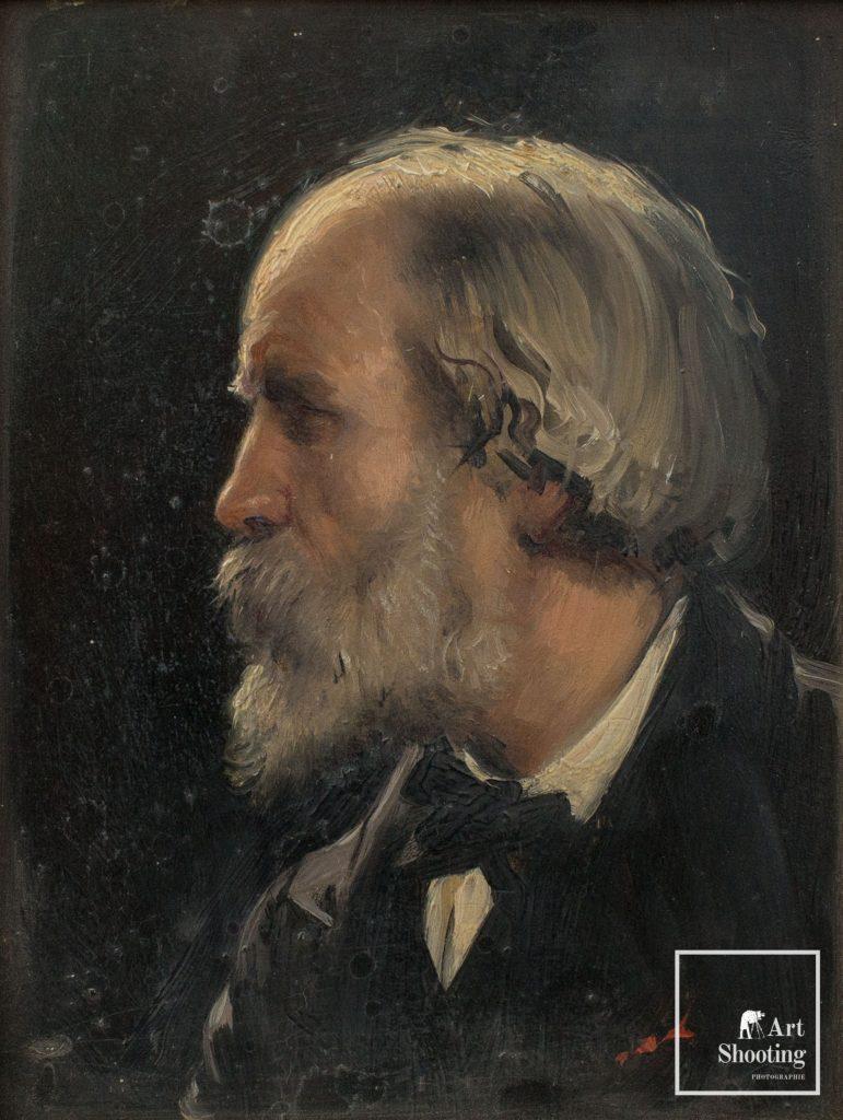 Autoportrait Fontaine 19e siècle