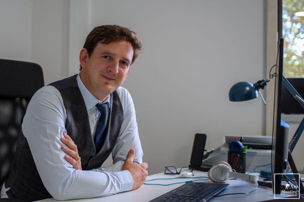 Portrait CEO bureau